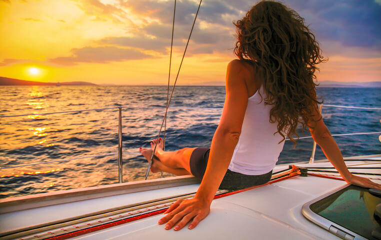 Sunset Sailing in Cabo Arch of Cabo San Lucas