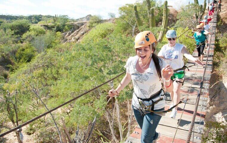 Zipline in Cabo San Lucas Mexico