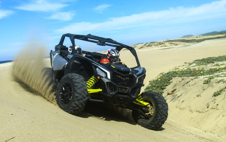 Riding your Dune Buggy in Cabo San Lucas
