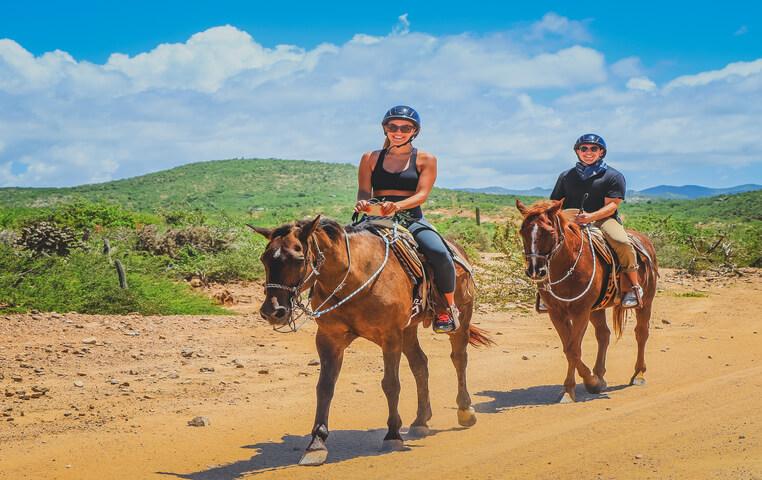 Riding Horse on Cabo Beach