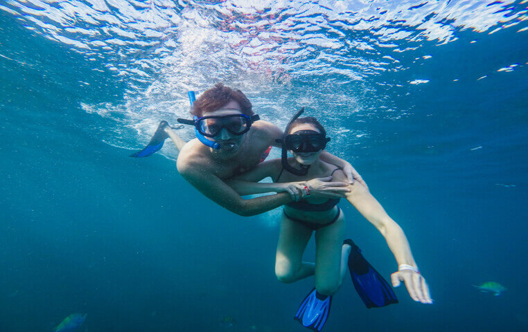 Snorkeling on best Cabo Beaches