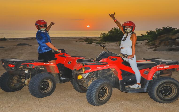 ATV or Dune Buggy Sunset Beach
