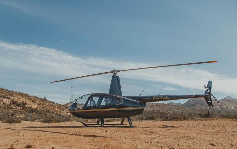 Helicopter Tour in Los cabos