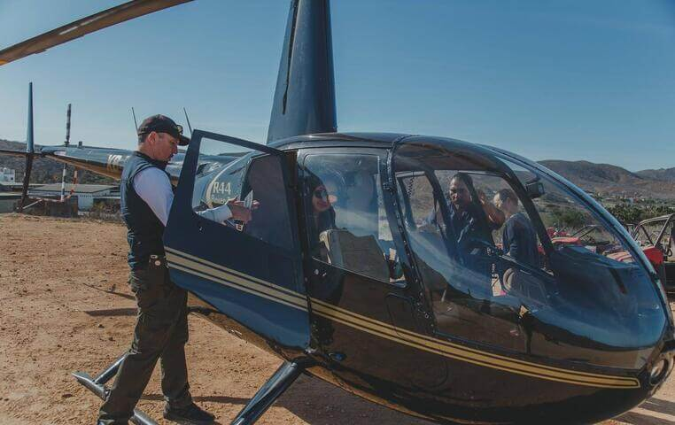 Cabo Arch Helicopter Tour