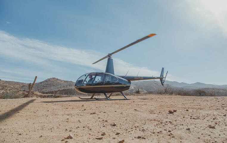 Helicopter Arch of Cabo San Lucas