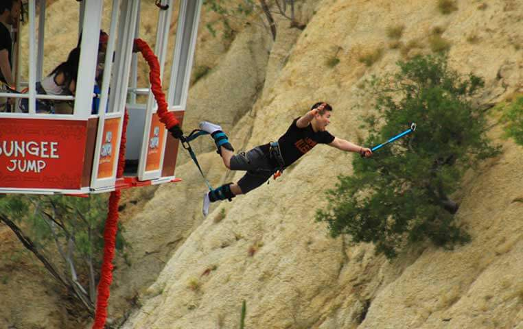 Bungee Jumping in Cabo San Lucas